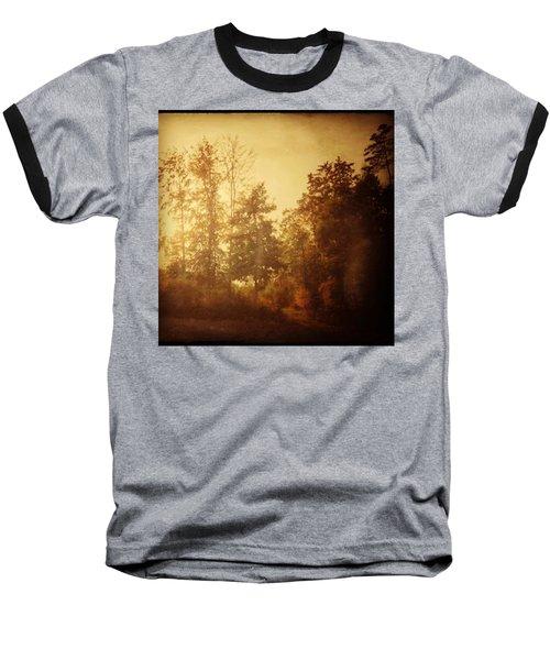 Damals.#herbst #nostalgie #autumn Baseball T-Shirt