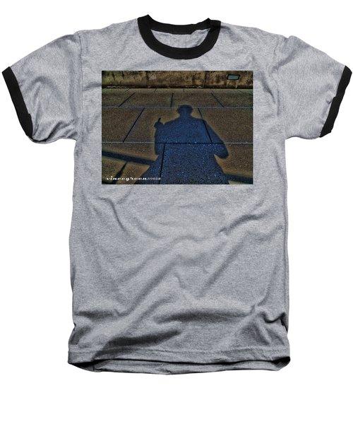 Damn Shadow Figure Baseball T-Shirt