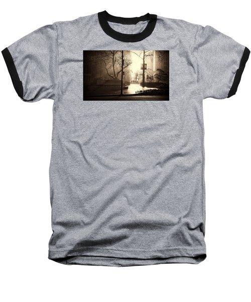 Damp Dawn Baseball T-Shirt