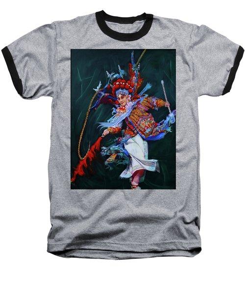 Dan Chinese Opera Baseball T-Shirt