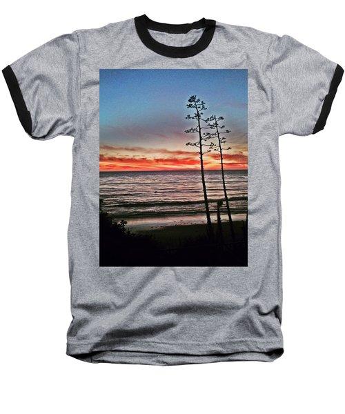 Dana Point Sunset Baseball T-Shirt
