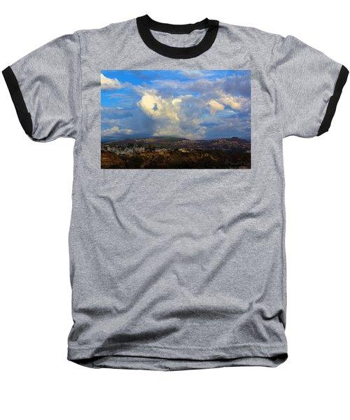 Dana Point View From Cliff Baseball T-Shirt