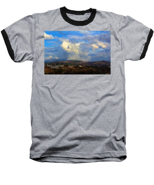 Dana Point View From Cliff Baseball T-Shirt