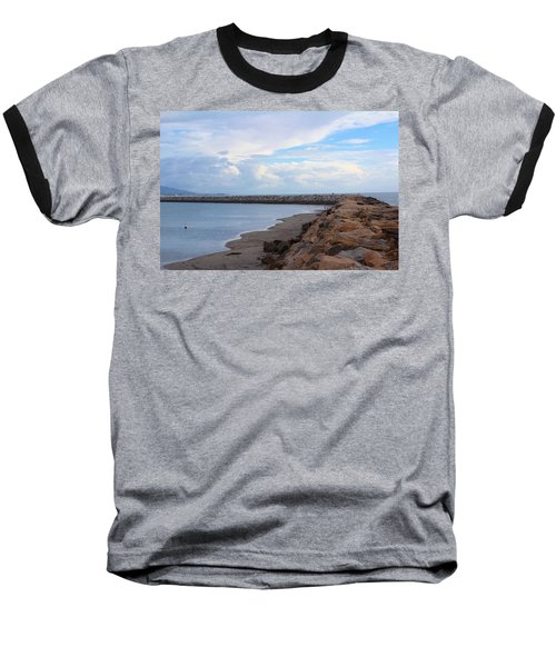 Dana Point  Baseball T-Shirt by Viktor Savchenko