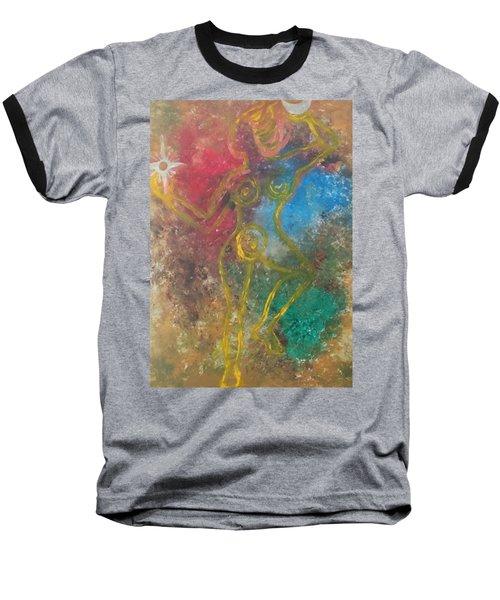 Dance Of Creation Baseball T-Shirt
