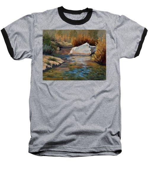 Dance Of Light On Bishop Creek Baseball T-Shirt