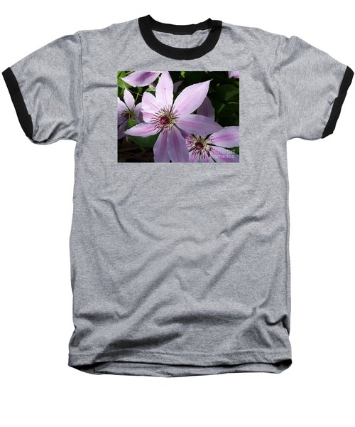 Dance Of The Clematis Baseball T-Shirt
