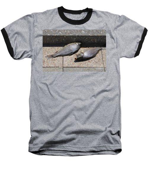 Dance Of The Dead Fish Baseball T-Shirt