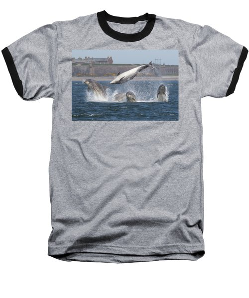 Dance Of The Dolphins Baseball T-Shirt