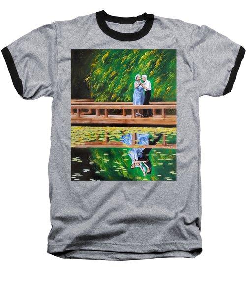 Dance Reflection Baseball T-Shirt by Jason Marsh