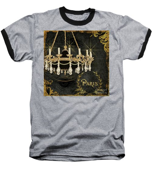Baseball T-Shirt featuring the painting Dance The Night Away 2  by Audrey Jeanne Roberts