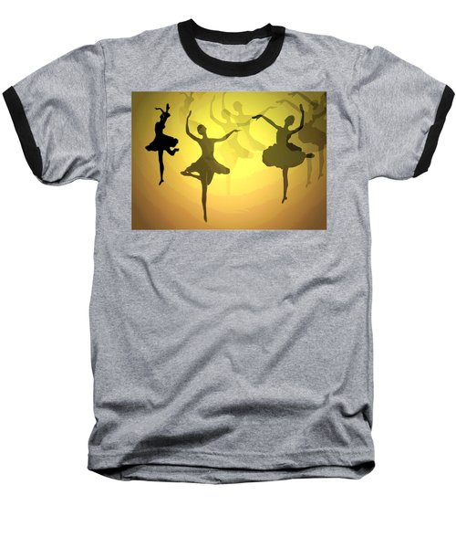Baseball T-Shirt featuring the photograph Dance With Us Into The Light by Joyce Dickens