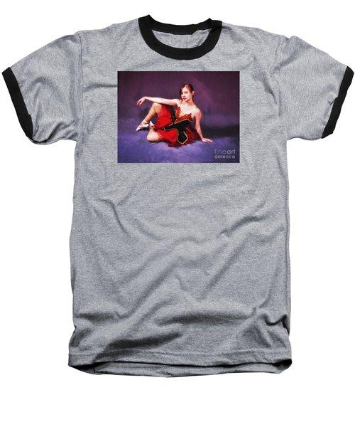 Dancer No. 6  ... Baseball T-Shirt by Chuck Caramella