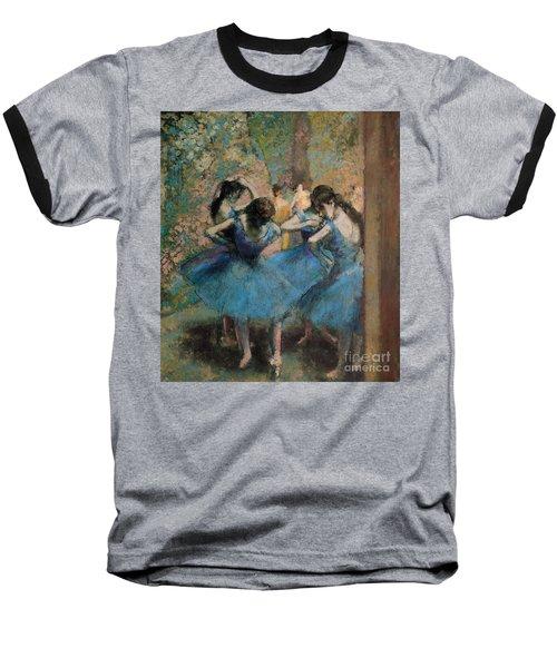 Dancers In Blue Baseball T-Shirt