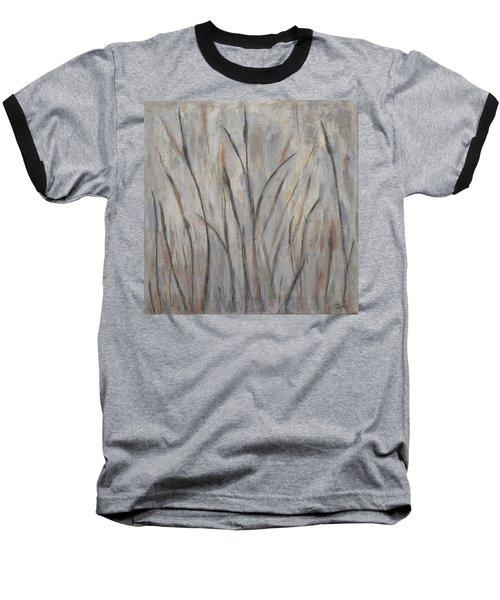 Dancing Cattails 2 Baseball T-Shirt by Trish Toro