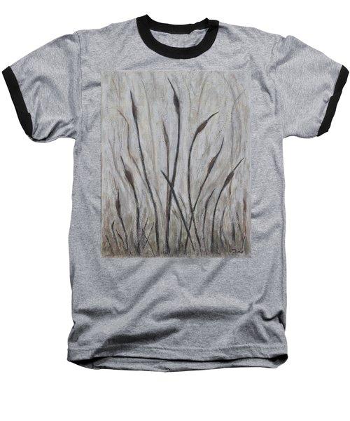Dancing Cattails 3 Baseball T-Shirt by Trish Toro