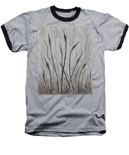 Dancing Cattails 3 Baseball T-Shirt