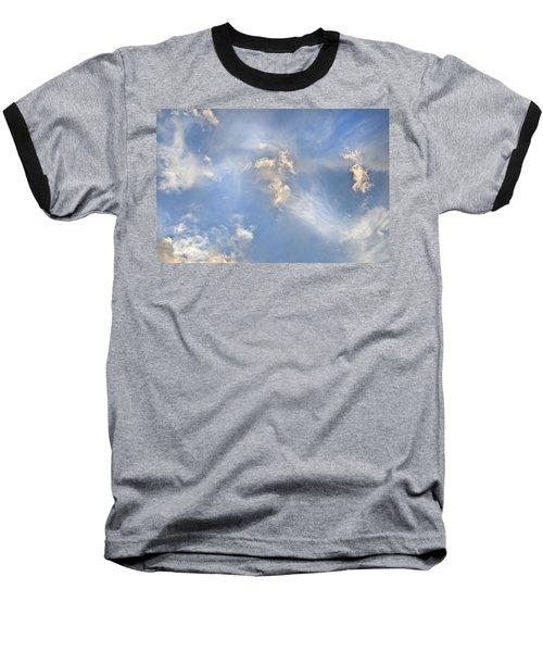 Dancing Clouds Baseball T-Shirt