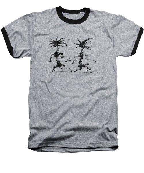Dancing Couple 5 Baseball T-Shirt