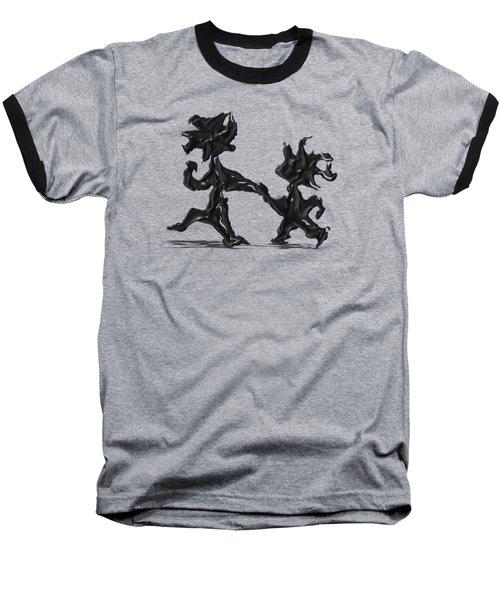 Dancing Couple 6 Baseball T-Shirt