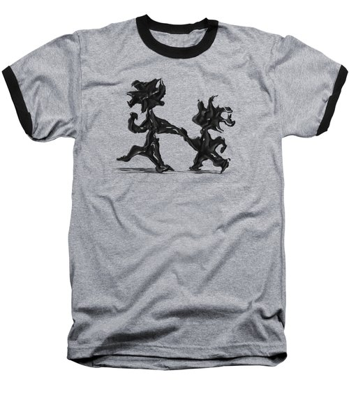 Dancing Couple 6 Baseball T-Shirt