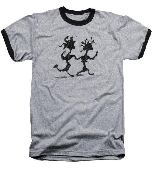 Dancing Couple 7 Baseball T-Shirt