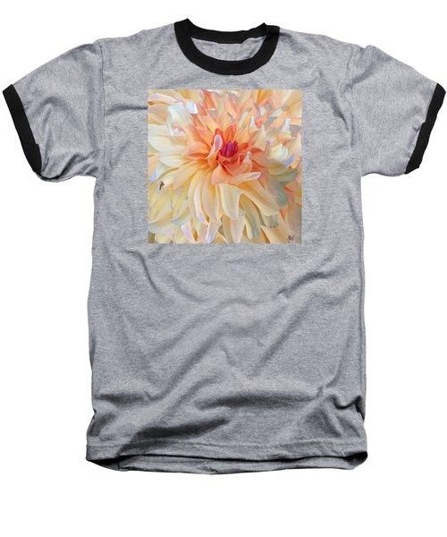 Dancing Dahlia Baseball T-Shirt by Michele Avanti