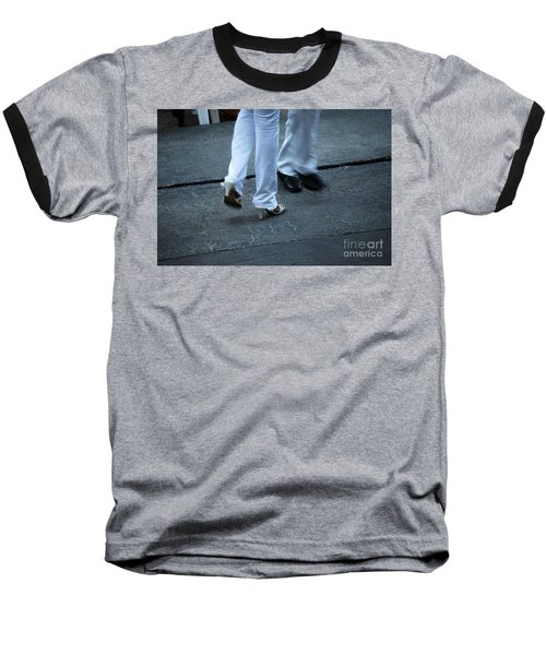 Dancing Feet At The Dominican Republic Son Party Number One Baseball T-Shirt