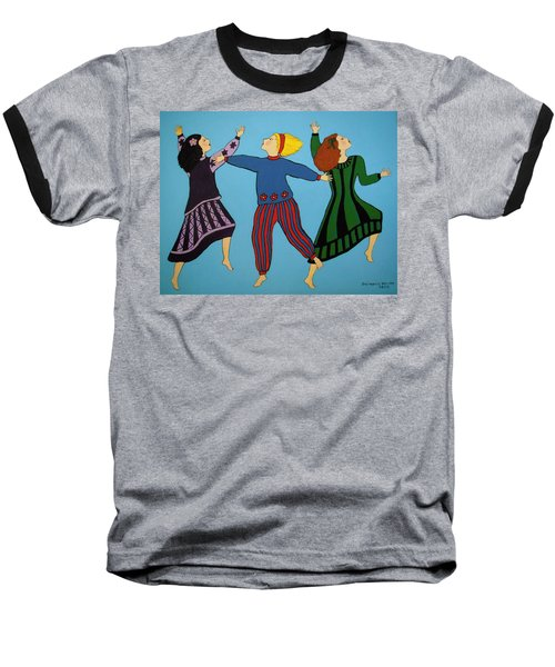 Dancing For Joy Baseball T-Shirt