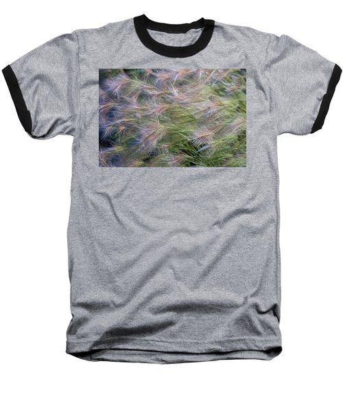 Dancing Foxtail Grass Baseball T-Shirt