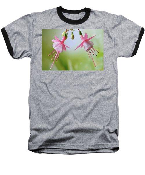 Baseball T-Shirt featuring the photograph Dancing Fuchsia by Terence Davis