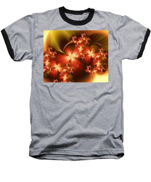 Dancing In Autumn Baseball T-Shirt