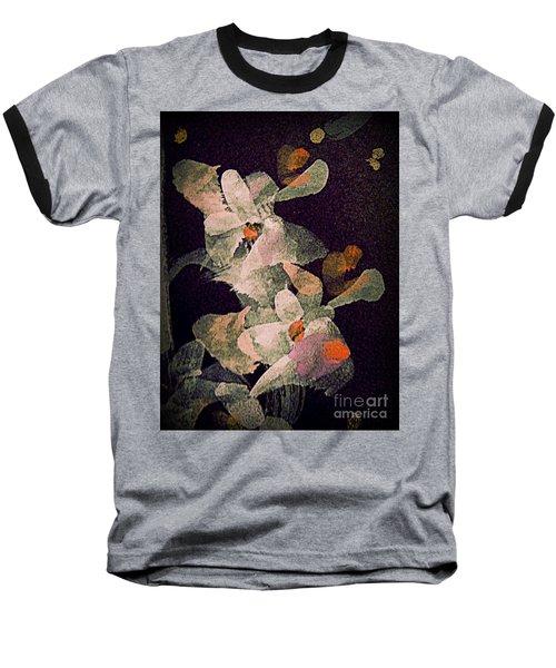 Dancing In The Dark Baseball T-Shirt by Nancy Kane Chapman