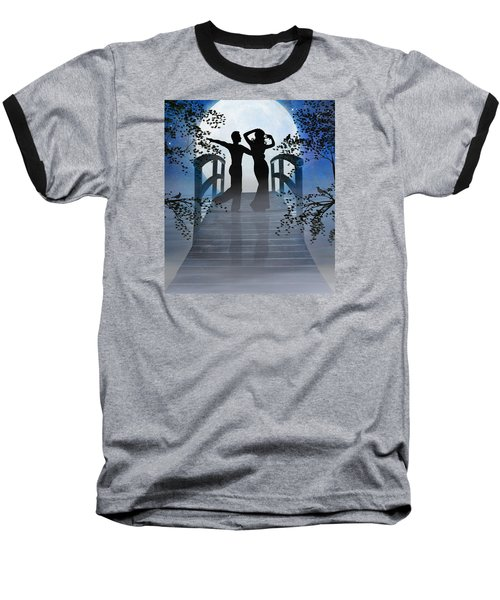 Dancing In The Moonlight Baseball T-Shirt