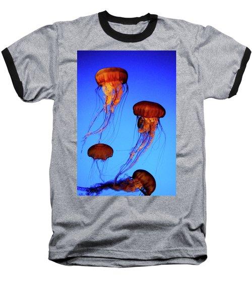 Dancing Jellyfish Baseball T-Shirt