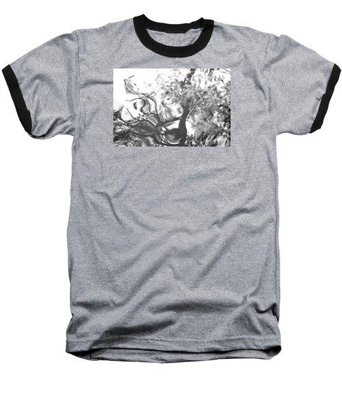 Dancing Leaves Baseball T-Shirt