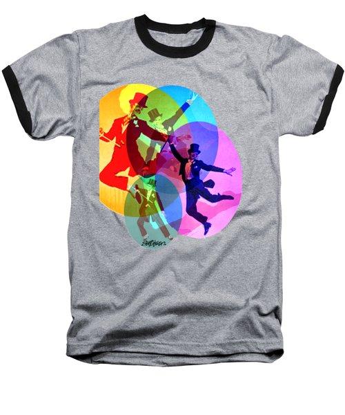 Dancing On Air Baseball T-Shirt by Seth Weaver