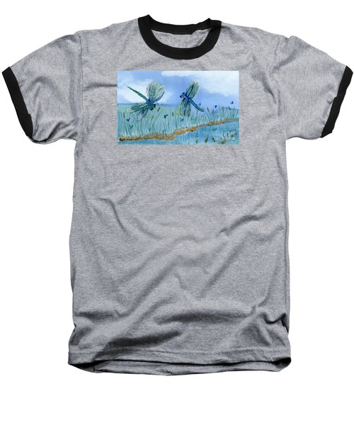 Dancing Skies Baseball T-Shirt