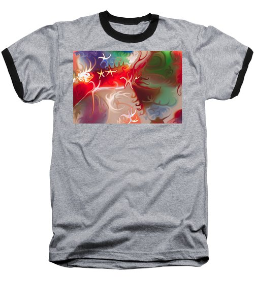 Dancing Stars Baseball T-Shirt