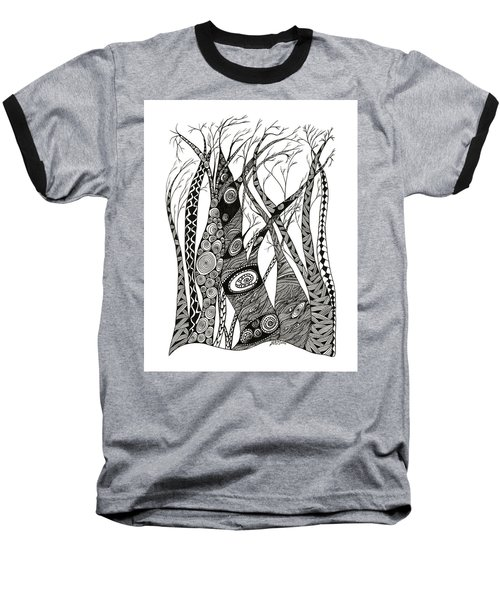 Dancing Trees Baseball T-Shirt
