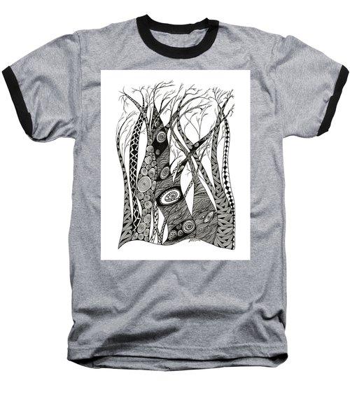Dancing Trees Baseball T-Shirt