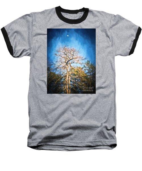 Dancing Under The Moon Baseball T-Shirt