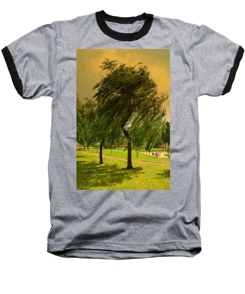 Dancing Willow Baseball T-Shirt