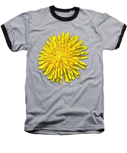 Dandelion 2 Baseball T-Shirt by Bob Slitzan