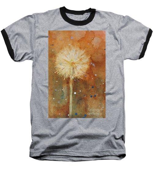 Dandelion Clock 1 Baseball T-Shirt