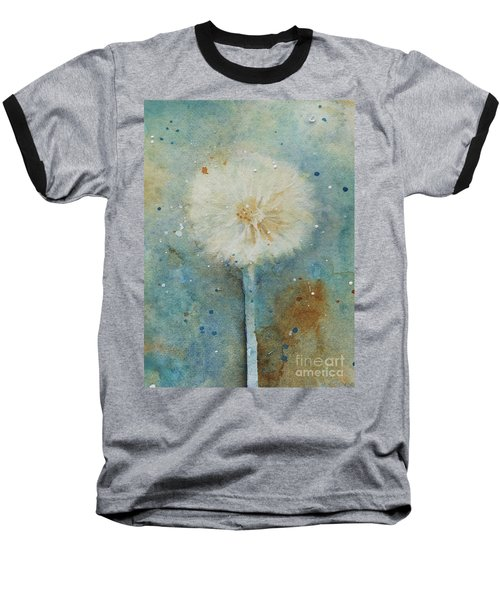 Dandelion Clock 2 Baseball T-Shirt