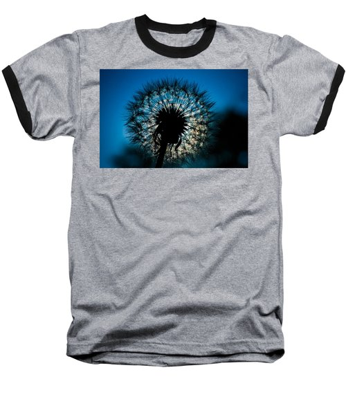 Baseball T-Shirt featuring the photograph Dandelion Dream by Jason Moynihan
