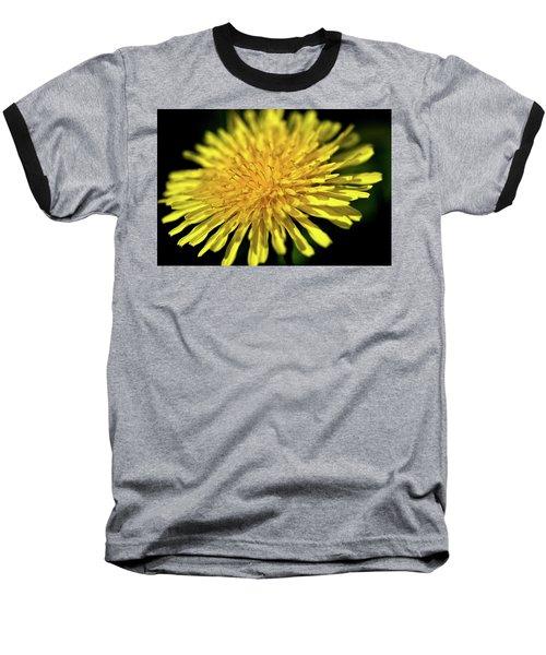 Dandelion Flower Baseball T-Shirt