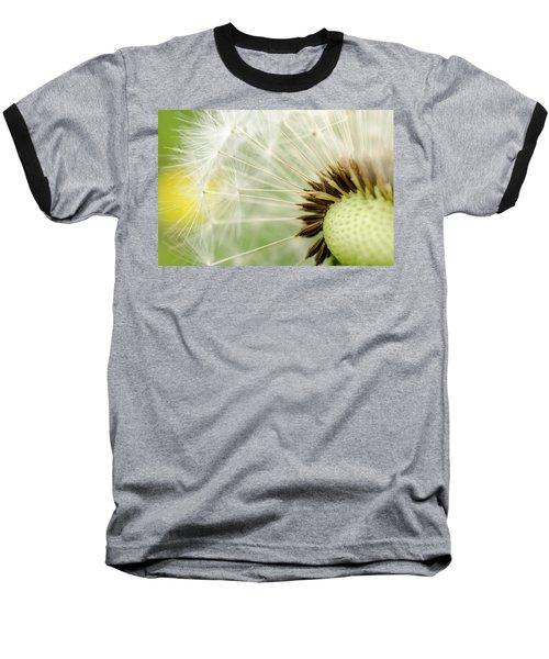 Dandelion Fluff Baseball T-Shirt