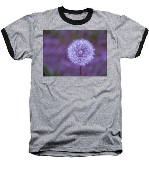 Dandelion Geometry Baseball T-Shirt
